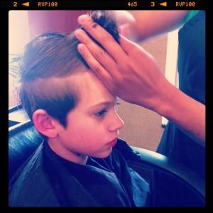 Getting it cut.