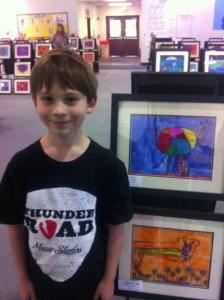 The Boy & His Art