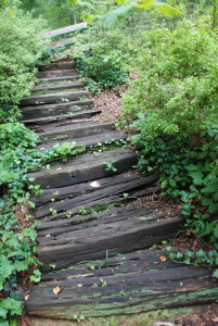 Death trap stairs.