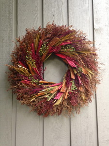 New wreath!