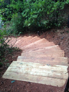 Stairs are done!