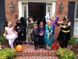 Kids ready to go!