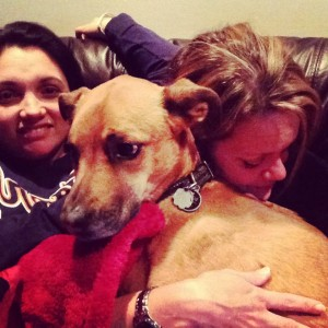 Dora, Puppy & Rebecca