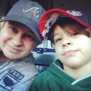 Me & The Boy @ The Braves Game