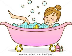 stock-photo-illustration-woman-bathing-110308940